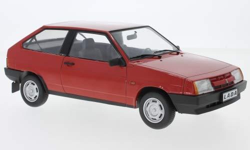 Unbekannt Lada Samara, rot, 1984, Modellauto, Fertigmodell, KK Scale 1:18