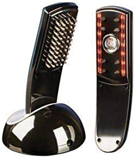 4beauty Hair Loss Treatment Kit - Infrared Laser Comb (A+B) Hair Regrowth Massage Set
