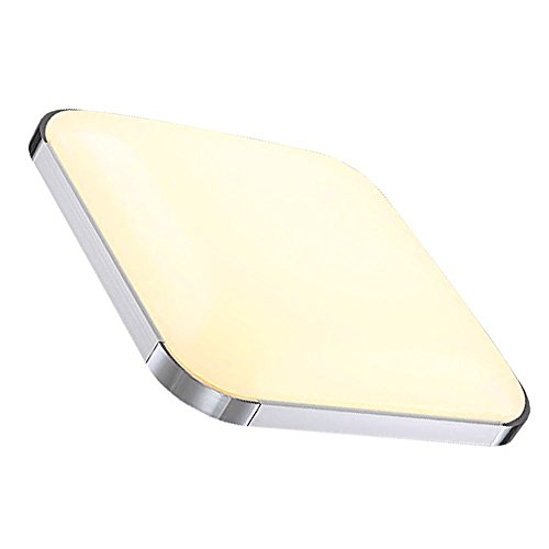 Hengda 24W LED Deckenleuchte Warmweiß Moderne 1920LM Esszimmer Deckenbeleuchtung IP44 Badezimmer geeignet