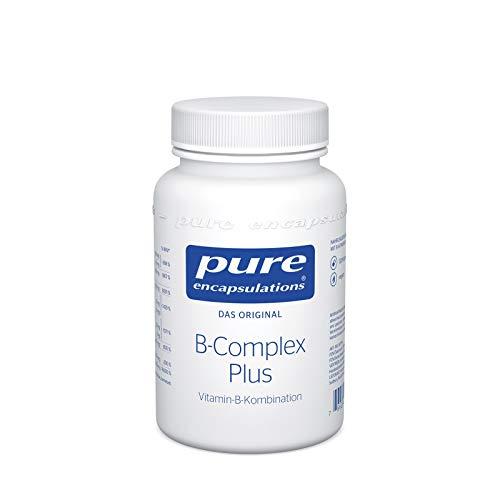 Pure Encapsulations - B-Complex Plus - Aktivierte B-Vitamine mit Metafolin für eine verbesserte Aufnahme - 120 vegane Kapseln