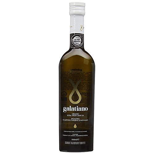 Galatiano Huile d 'Olive Extra Vierge Organique Grecque 500 ml
