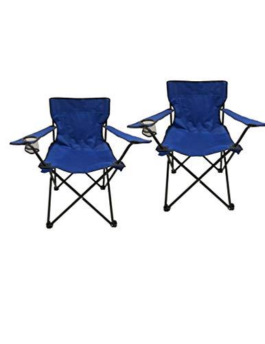 Homecall - Chaise de camping, Bleu
