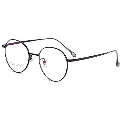 HQMGLASSES Gafas de Lectura de Las señoras Gafas de Sol Photochrómicas Photogrógicas Multifocales Pure Titanio Lentes de Resina Aspérica Progresivas / UV400 Dioptría +1.0 a +3.0,Negro,+1.5
