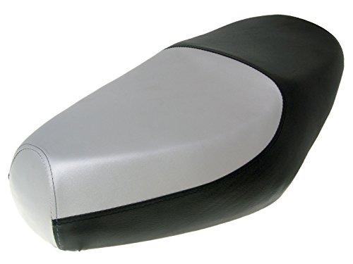 Sitzbank schwarz / silber für Benzhou Retro Star (YY50QT-15)