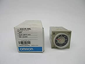 OMRON H3CR-H8L 0.6/1.2/6/12MIN 24VAC/DC NSMP