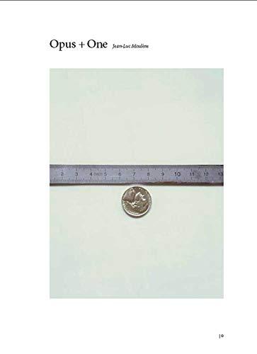 Vergne, P: Jean-Luc Moulene - Opus + One (Dia Foundation (YALE))
