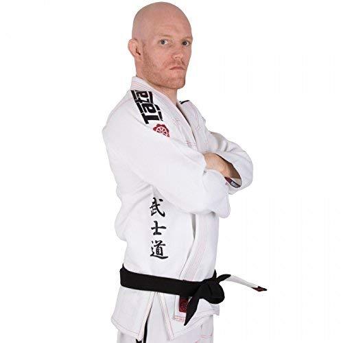 Tatami Giappone Serie Samurai Bianco BJJ Gi Kimono Uniforme Ju Jitsu BJJ - Bianco, A3