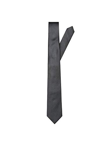 SELECTED HOMME male Krawatte Seiden ONE SIZEBlack