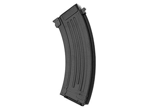 Battleaxe MidCap Magazin für AK 47 Softair/Airsoft (S) AEG (150 BBS) -schwarz-