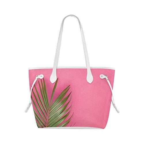 Bolsa de trabajo Tote Summer Time Cool Fashion Color Handbag Shoulder Bolsa de mano moderna de gran capacidad Resistente al agua con asa duradera