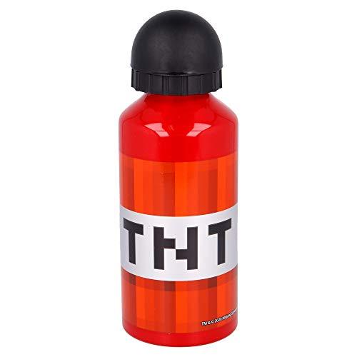 Stor ST-40434 Aluminiumflasche, 400 ml, Minecraft