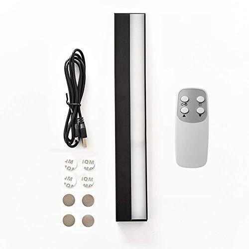 USB-Ladeschrankleuchte mit Fernbedienung, dimmbar, 3 Leuchtmodi 60s Timer Modern a