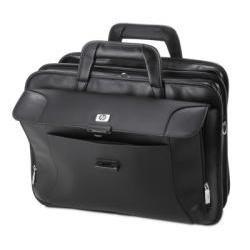 HP Executive Leather Case 17.3″ Maletín Negro – Funda (Maletín, 43.9 cm (17.3″), Tirante para Hombro,…