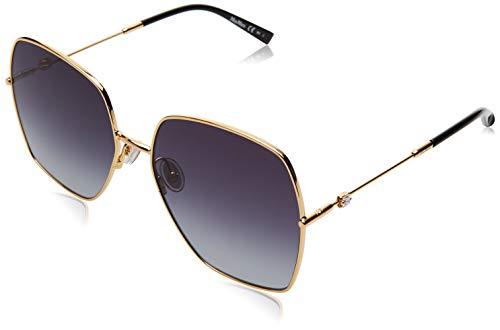 MaxMara MM Gleam II Sunglasses, Yell Gold, 59 Womens