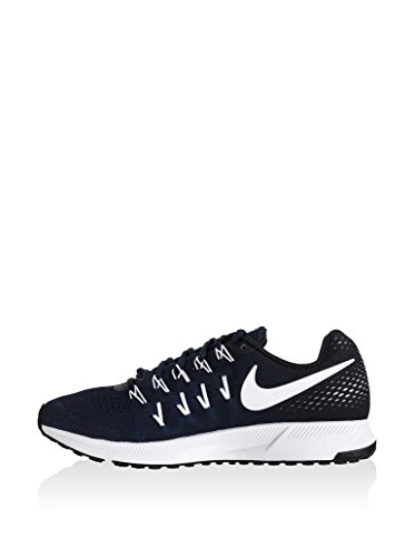 Nike Men's Air Zoom Pegasus 33 TB Running Shoes (15 D(M) US, Midnight Navy/White-Black-Pure Platinum)