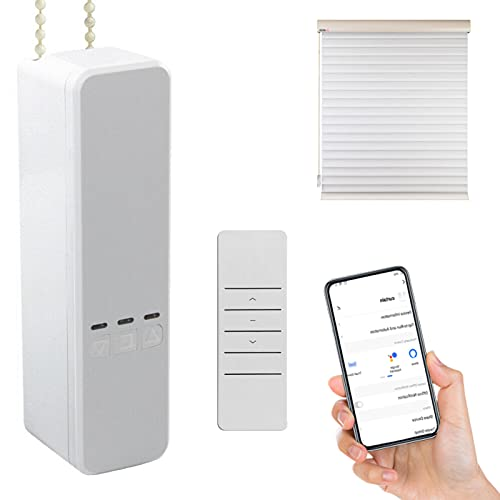 SOLE HOME Controlador de persiana inteligente WiFi, motor de persiana enrollable de cadena de bricolaje, compatible con Alexa Google Home Control de voz, control inteligente Tuya Smart Life App