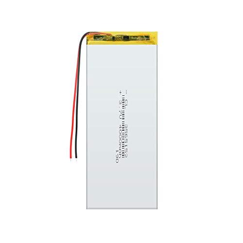 Dilezhiwanjuwu Wiederaufladbare 3565152 3,7 V 4000 mAh Li-Polymer 1-teilige Batterie für Q50 G700S K92 G36 Bluetooth-Headset Smartwatch für Kinder mp3