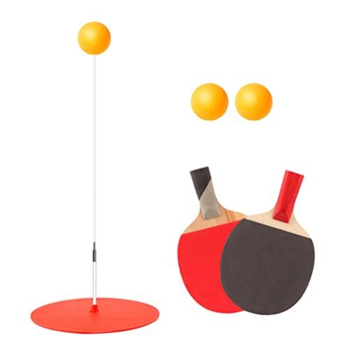 Abaodam Juego de Raqueta de Ping- Pong para Tenis de Mesa Juego de Equipos de Entrenamiento de Ping- Pong para Principiantes Niños Adultos Color Azar