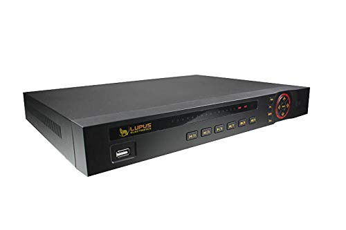 LUPUS - LE 918 für 8 ONVIF kompatible IP Kameras, 4K, Deutscher Hersteller + Support, iOS+Android APP, MacOS und WIN Software