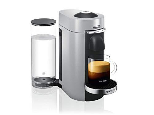 NESPRESSO VERTUOPLUS DELUXE COFFEE AND ESPRESSO MACHINE BY DE