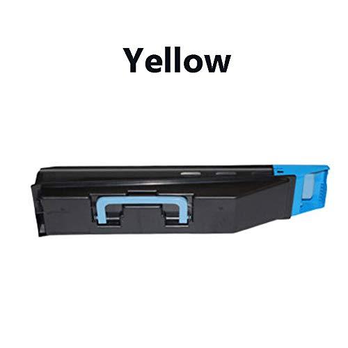 Kompatible Tonerkartuschen für Kyocera TK-858 Ersatz für Kyocera TASKalfa 400ci 500ci 552ci Laserdrucker, Schwarz Cyan Gelb Magenta-Yellow