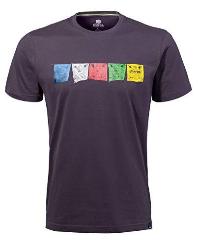 Sherpa T-Shirt pour Homme Tarcho Tee Gris foncé (229) XXL