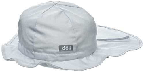 Döll Unisex Sonnenhut mit Nackenschutz Schirmmütze, Grau (Micro Chip|Gray 1992), 55