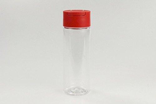 TUPPERWARE Manhattan Mini 330 ml rood buitenste zeef azijn olie saus suiker