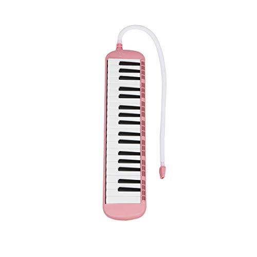 Lorsoul ABS-Kunststoff Flexible Melodica Blasrohr Universal-Pianica Schlauch 57cm Länge mit Mundstück