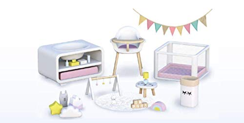 Mymy City - Set Muebles, habitación bebés para niños y niñas de 3 a 8 años (Famosa 700015355)