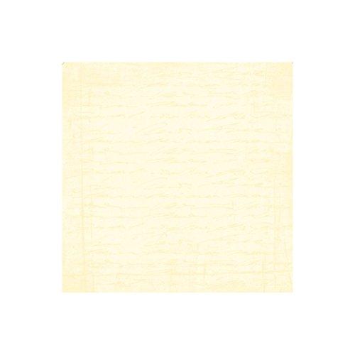 Lot 5 grandes Feuilles papier épais, Ecriture, Couleur Coquille d'oeuf, Dimension 30,5 x 30,5 cm, 140gr/m², pour scrapbooking