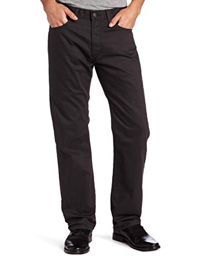 Levi's 501 Original Straight - Pantalones Vaqueros para Hombre Grafito. 33W x 32L
