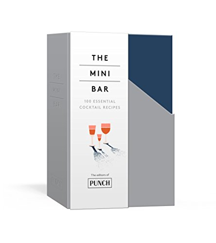 The Mini Bar: 100 Essential Cocktail Recipes; 8 Notebook Set