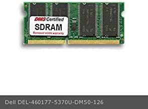 DMS Compatible/Replacement for Dell 5370U Latitude CPx J650GT 128MB DMS Certified Memory 144 Pin PC100 16x64 SDRAM SODIMM (8X16) - DMS