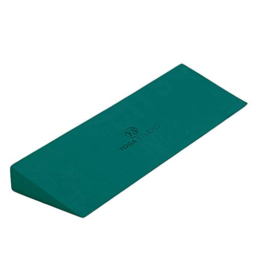 Yoga Studio Ys Teal Wedge-Cuña para Yoga Iyengar, 50 x 15 x 5 cm, Antideslizante EVA, Unisex, Azul Verdoso, Normal