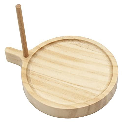 QXPDD Kit de telar de cuentas de madera redonda/triangular, herramienta de tejer para hacer manualidades, para hacer joyas, pulseras, redondas