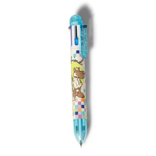 NICI Jolly Logan Stylo-Bille Multicolore
