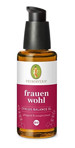 PRIMAVERA Frauenwohl Zyklus Balance Öl bio 50 ml - pflegendes Körperöl - Aromatherapie - ausgleichend, entspannt durch die Tage - vegan