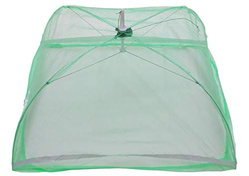 Cloudaby 4 String Baby Mosquito Net for Newborn, Upto 9 Months (Pack of 1f) Multicolor