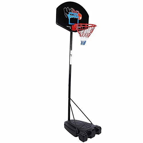 T-Day Soporte de Baloncesto, Tablero de Baloncesto, Tablero de Baloncesto al Aire Libre para niños, Marco Deportivo, Altura Ajustable