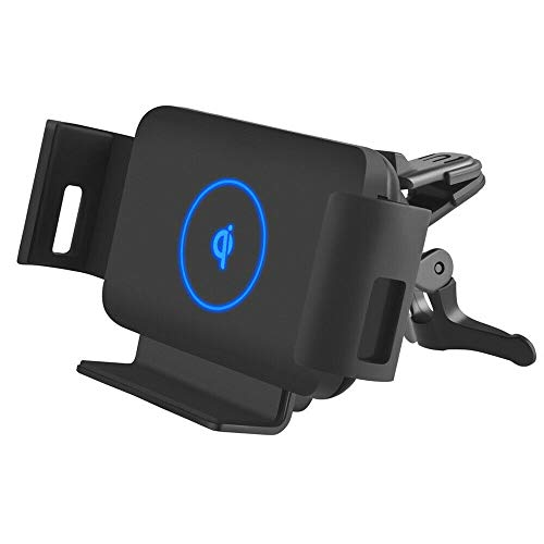 DearHot 15W Qi Wireless Car Charger Mount Holder Compatible for Samsung Galaxy Z Fold3 Z Fold2 Fold S21 Ultra Xiaomi Mix Fold iPhone 13 Pro Max 12 Pro 4.3in-6.9in Phone Auto Clamp Fast Car Charger
