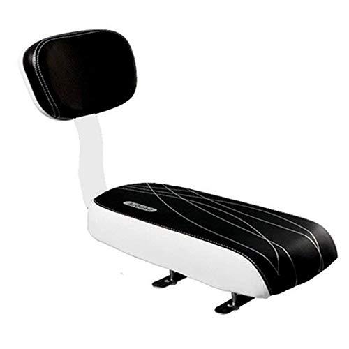 CHUCKSSS-Schienale per Bicicletta MTB Cuoio Morbido Cuscino Posteriore Schienale Sedile per Bambini con Schienale. Schienale Morbido Spugna Spessa Sicuro per Bambini O Adulti