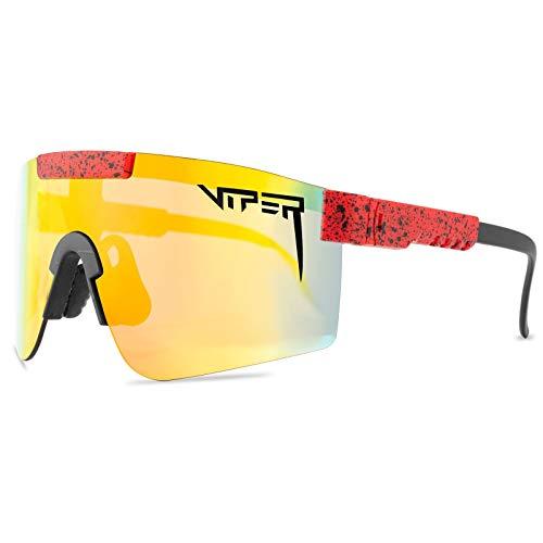 MIGDT Gafas De Sol Pit Viper, Gafas De Ciclismo Al Aire Libre, Gafas De Sol Polarizadas Uv400 para Mujeres Y Hombres