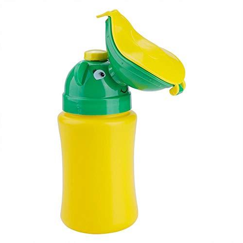 Vasino portatile per bambini bambino bambino vasino a prova di perdite orinatoio di emergenza servizi igienici di campeggio di viaggio(Girl)