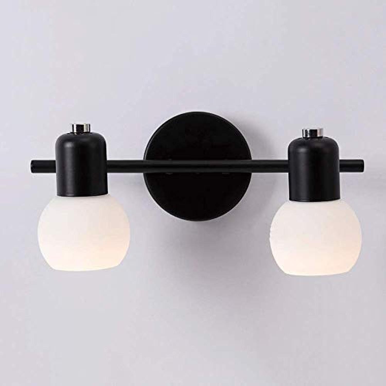 Zhang Yan ZYY  American Mirror Lampe kommode Lampe spiegelschrank Lampe Retro Schlafzimmer Lampe led Lampe Flur Wandleuchte (Gre  M)
