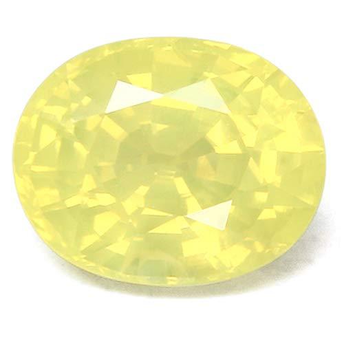 イエローサファイア 宝石 ルース 0.76CT