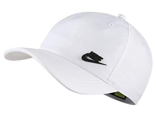 Nike Kinder Y NK H86 Cap Metal Futura Hat, White/Black, One Size