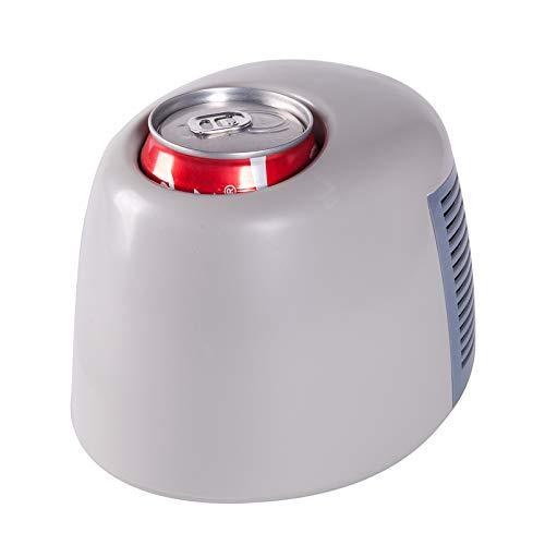 MNCYGJ Mini Refrigerador USB Silencioso Refrigerador para Bebidas con Taza Fría Y Caliente, Pequeño con Funciones De Enfriamiento Y Calentamiento Rápido
