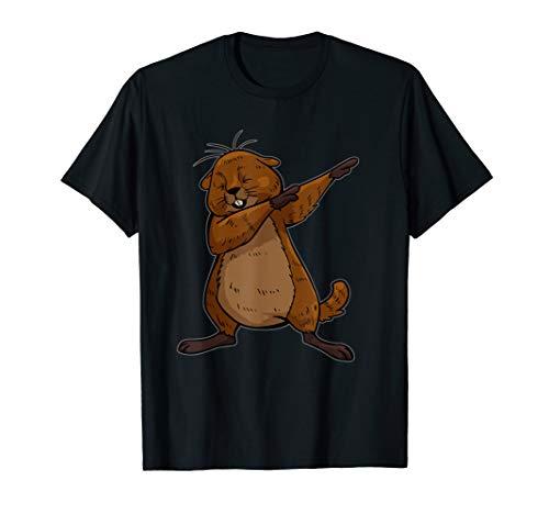 Murmeltier Shirt Funny DAB Dance Weihnachten T Shirt Geschenke