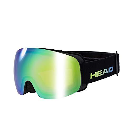 HEAD Unisex– Erwachsene Galactic FMR + Spare Lens Skibrille, blau/grün, Einheitsgröße